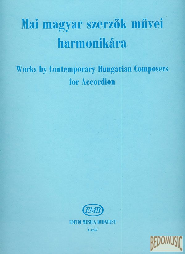 Mai magyar szerzők művei