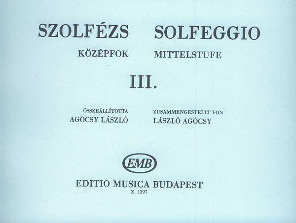Szolfézs középfok 3.