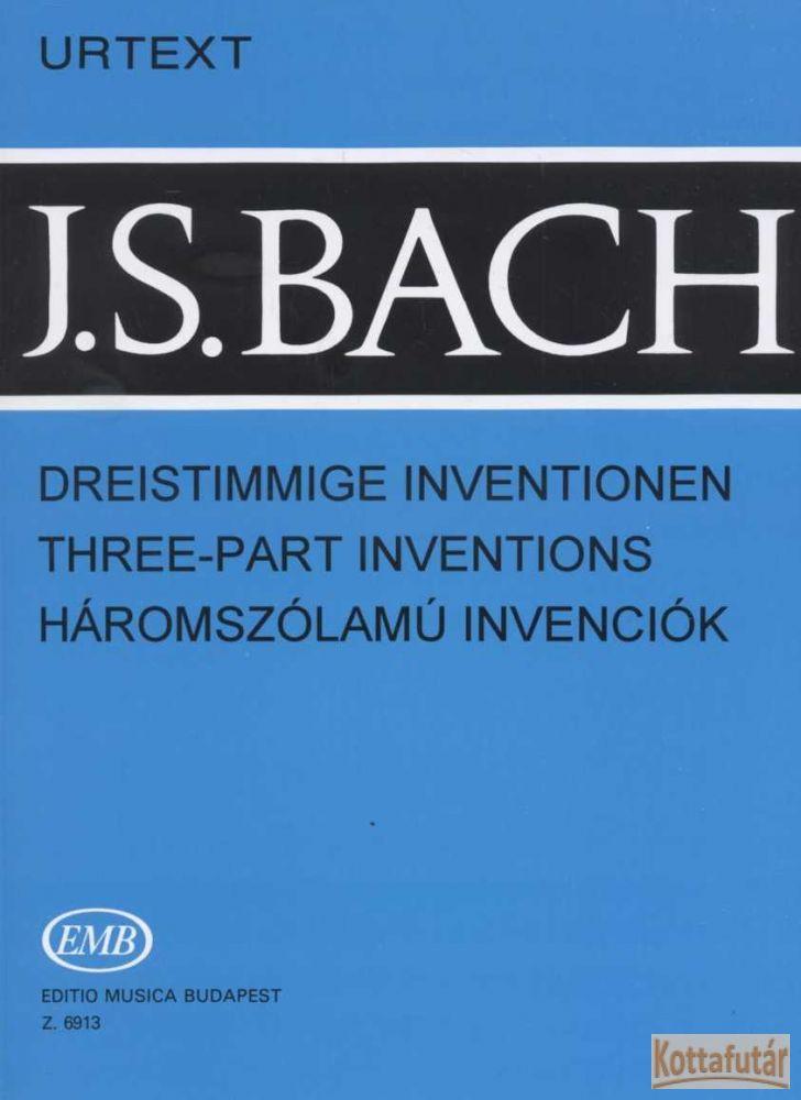 Háromszólamú invenciók (EMB 6913)