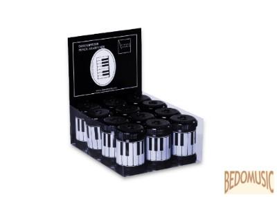 Hegyező, zongorabillentyűs mintával