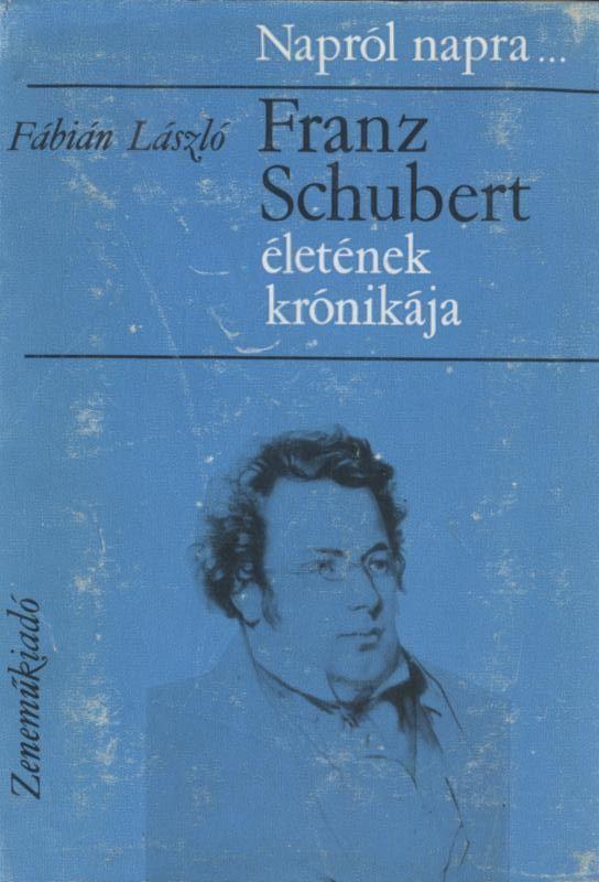Franz Schubert életének krónikája