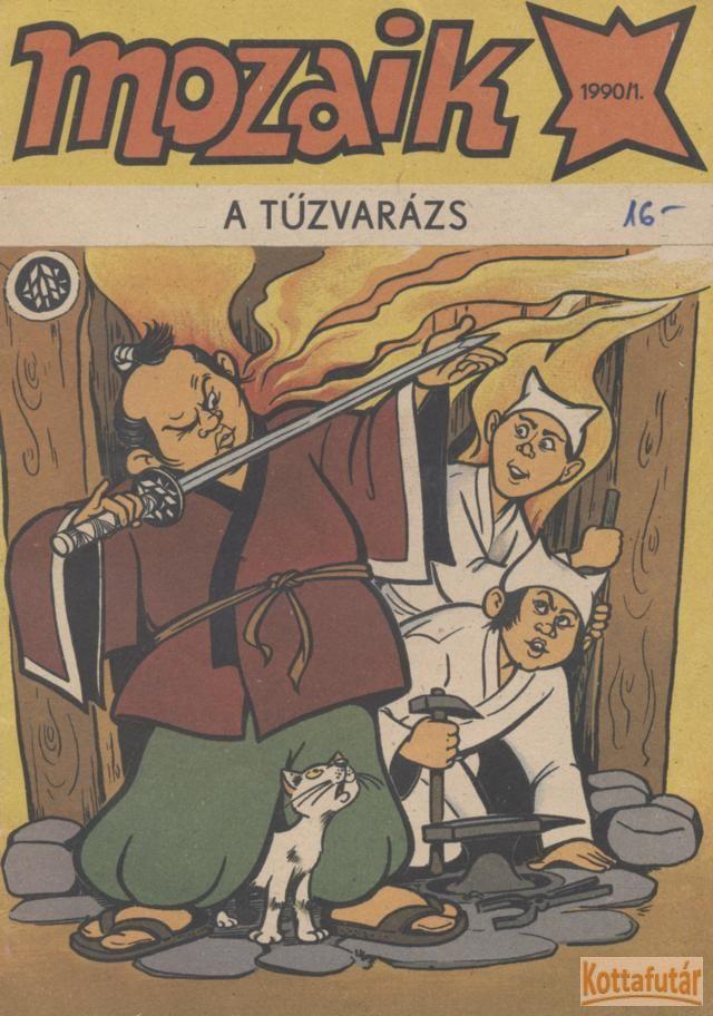 Mozaik 1990/1. - A tűzvarázs