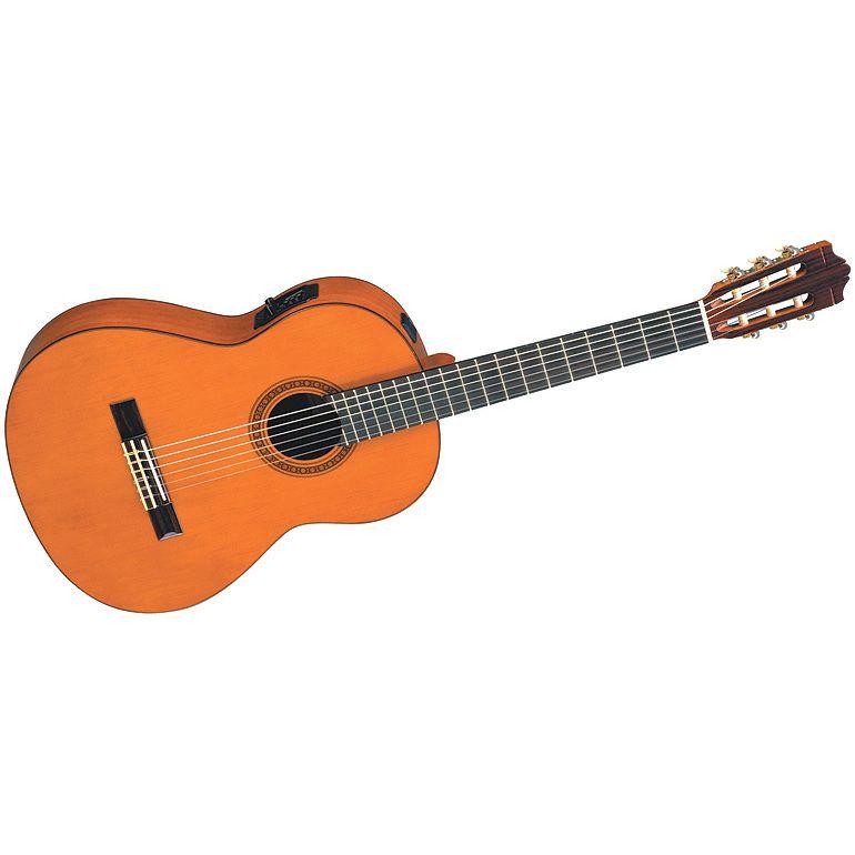 Yamaha CGX101A elektroakusztikus klasszikus gitár