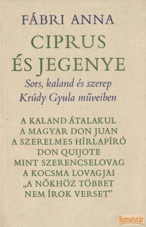 Ciprus és jegenye