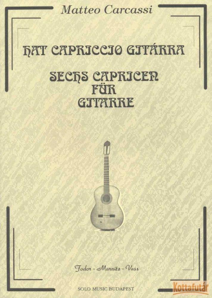 Hat capriccio gitárra