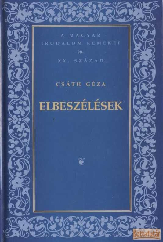Elbeszélések (Csáth Géza)