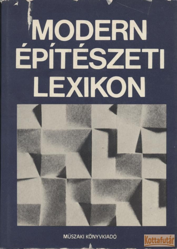 Modern építészeti lexikon