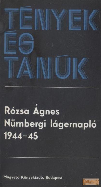 Nürnbergi lágernapló 1944-45