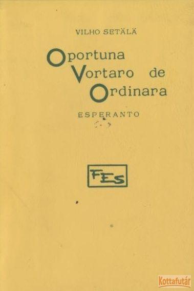 Oportuna Vortaro de Ordinara