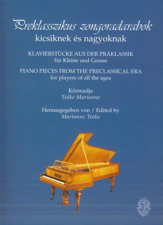 Preklaszzikus zongoradarabok kicsiknek és nagyoknak