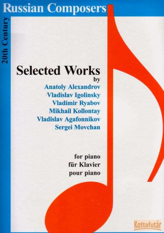 Selected Works by 20th Century Russian Composers