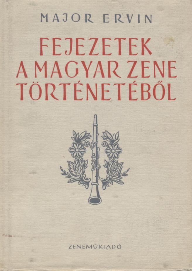 Fejezetek a magyar zene történetéből