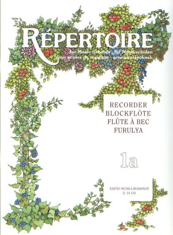 Repertoire zeneiskolásoknak - Furulya 1a