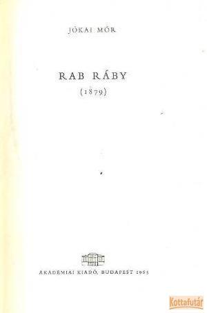 Rab Ráby (1965)