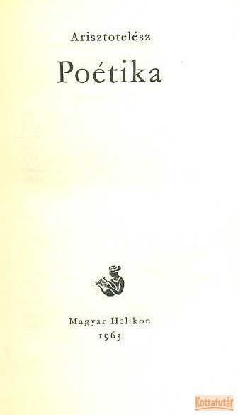 Poétika (1963)