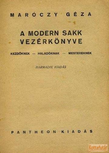 A modern sakk vezérkönyve