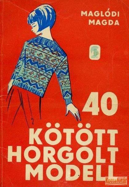 40 kötött horgolt modell
