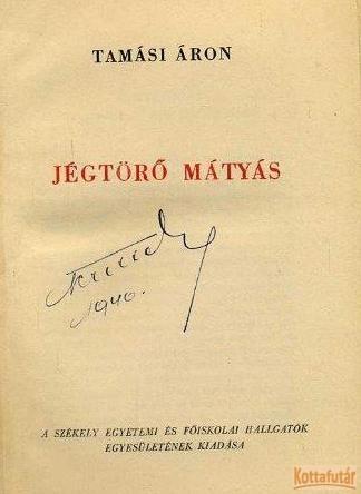 Jégtörő Mátyás (SZEFHE)
