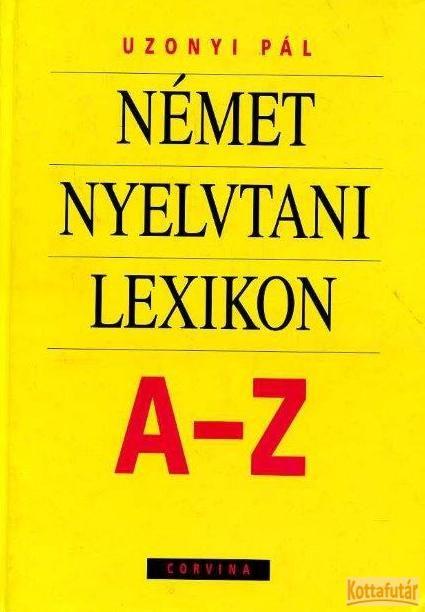 Német nyelvtani lexikon A-Z
