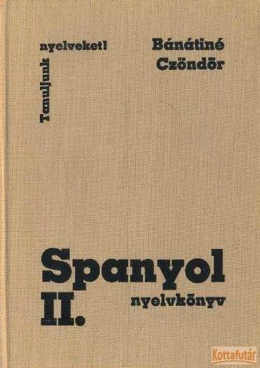 Spanyol nyelvkönyv II.