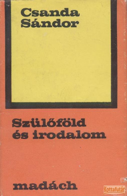 Szülőföld és irodalom