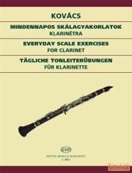 Mindennapos skálagyakorlatok klarinétra