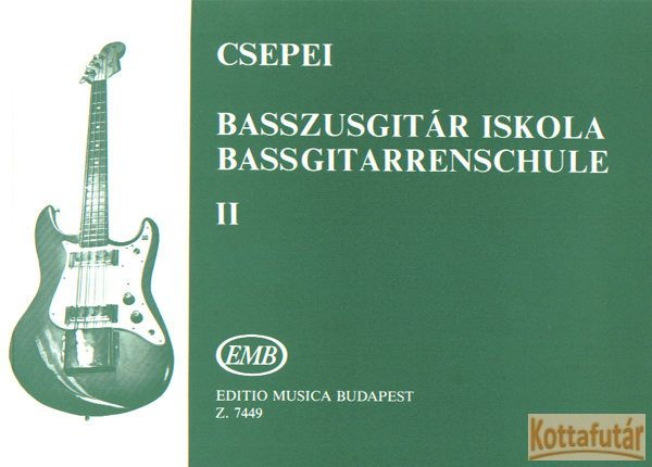 Basszusgitár-iskola 2.