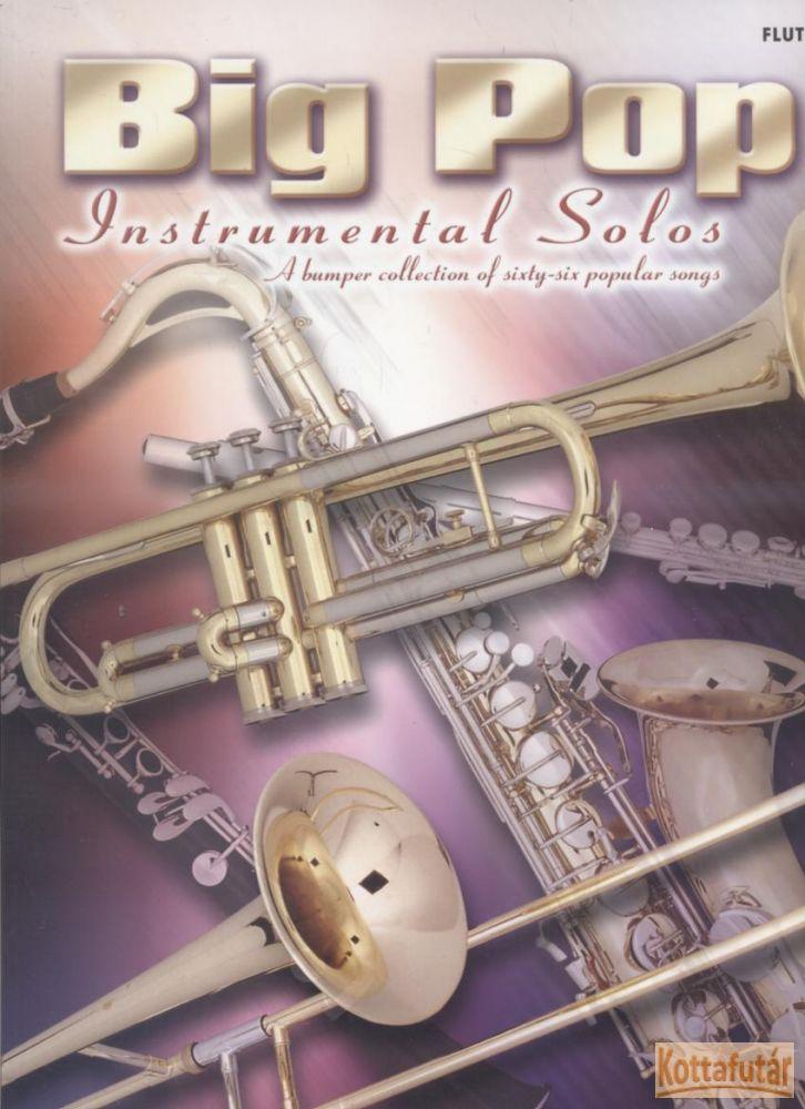Big Pop Instrumental Solos - Flute