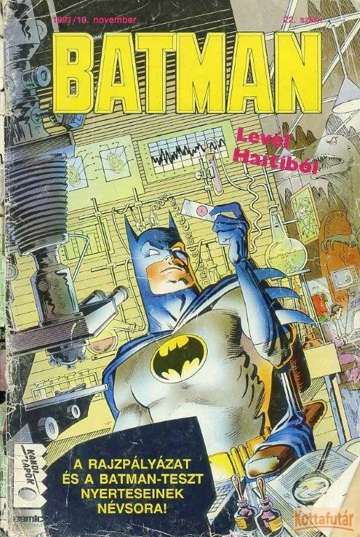 Batman 1991/10. Levél Haitiból