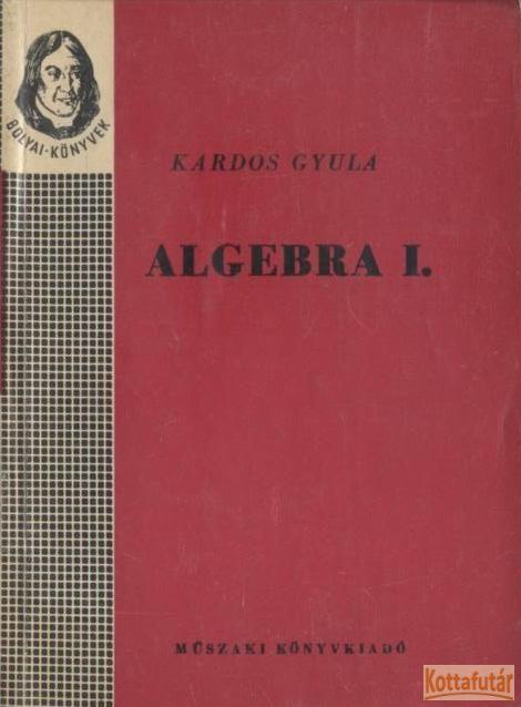 Algebra I-II.