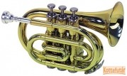 Garry Paul GP Bb-Pocket trombita