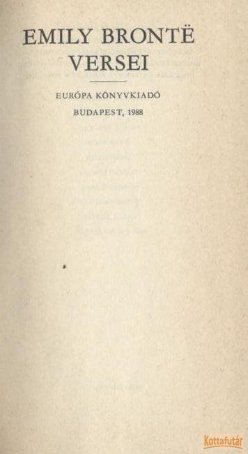Emily Bronte versei
