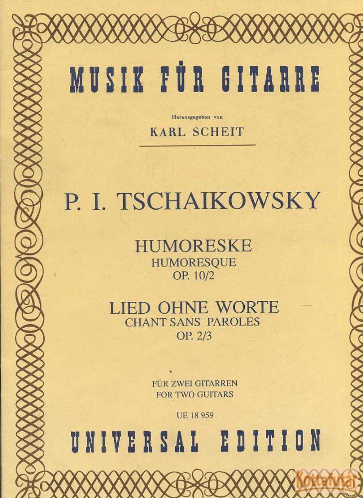 Humoreske Op.10/2 / Lied ohne worte Op. 2/3