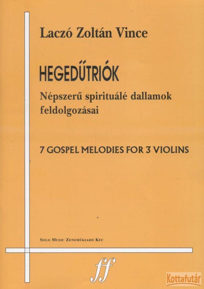 Hegedűtriók - Népszerű spirituálé dallamok feldolgozásai