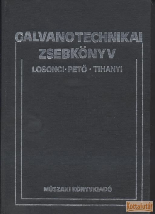 Galvanotechnikai zsebkönyv
