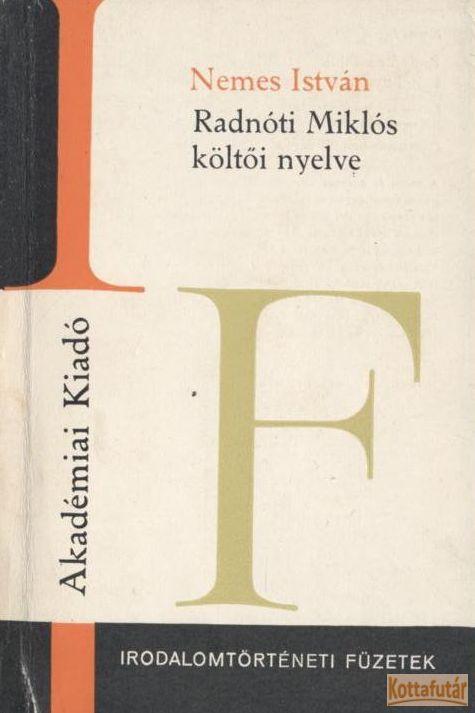 Radnóti Miklós költői nyelve