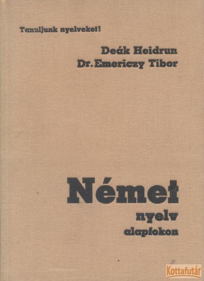 Német nyelv alapfokon