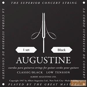 Augustine black low tension húrgarnitúra klasszikus gitárhoz