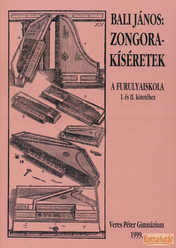 Zongorakíséretek a Furulyaiskola I. és II. kötetéhez