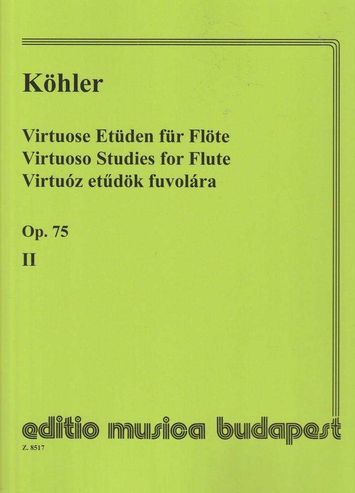 Virtuóz etűdök fuvolára 2. op.75