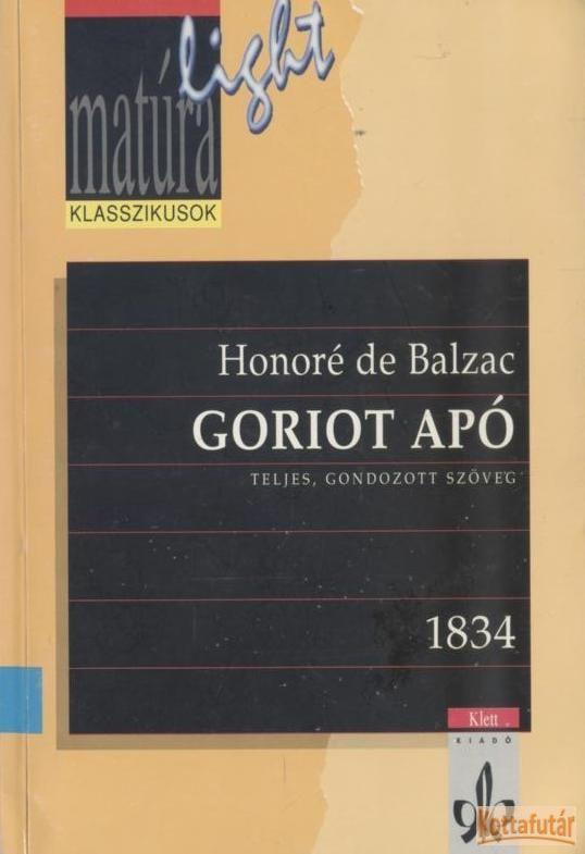 Goriot apó (1998)