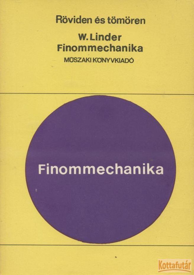Finommechanika