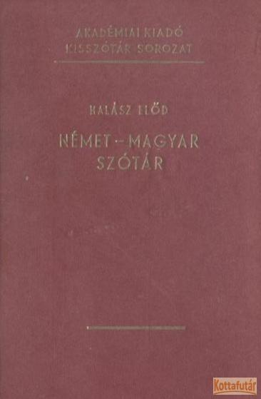 Német-magyar szótár (1975.)