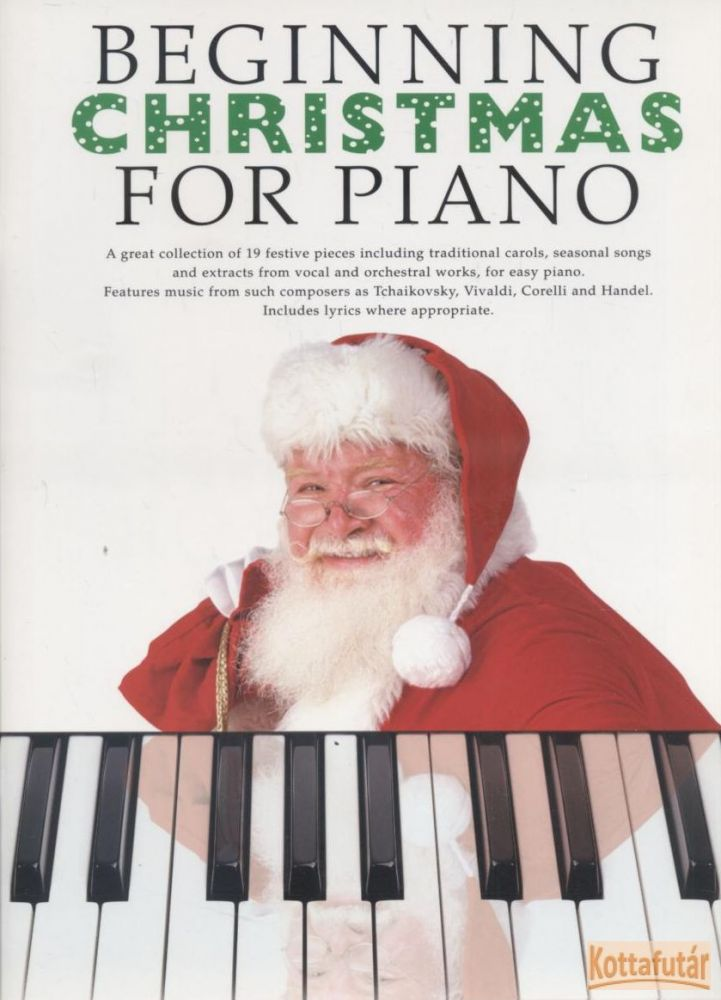 Beginning Christmas for Piano