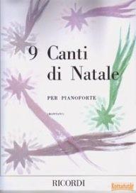 9 Canti di Natale per pianoforte