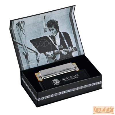 Hohner Bob Dylan Signature szájharmonika
