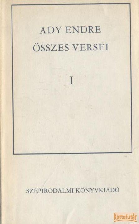 Ady Endre összes versei I-II. (1975)