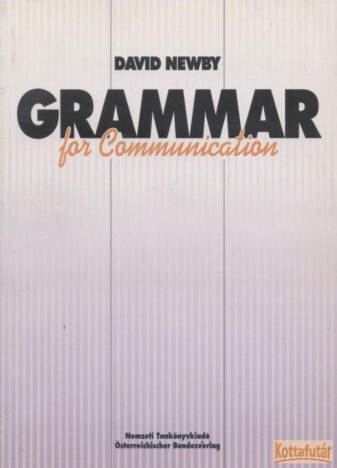 Grammar for Communication