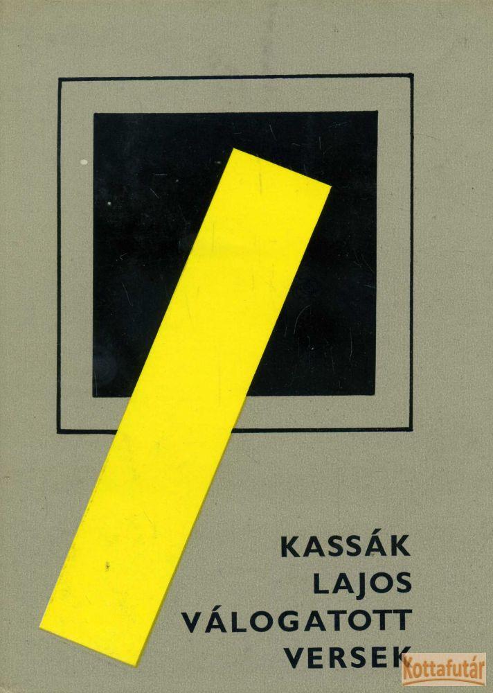 Válogatott versek (Kassák Lajos)