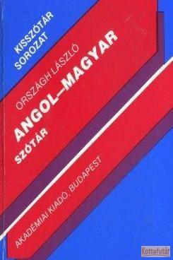 Angol - magyar szótár (1990)